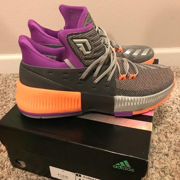 online store 0fa91 d2786 D Lillard 3 Adidas Basketball Shoes